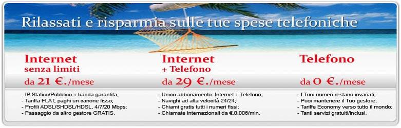 Connettività Internet e Telefonia VoIP