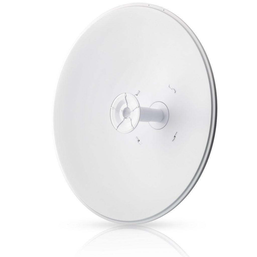 Ubiquiti airFiber X dish antenna, 30 dBi